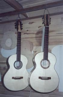 Two Steel String Guitars